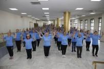ÜSKÜP - Konak'taki Halk Oyunları Kurslarına Yoğun Katılım