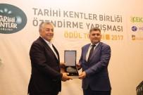 ESKIGEDIZ - Tarihi Kentler Birliği'nden Eskigediz Belediyesi'ne Ödül