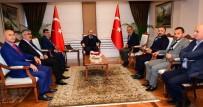 GENEL SEKRETER - Trabzon Ticaret Borsası'ndan Vali Ustaoğlu'na Ziyaret