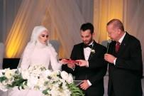 İSTANBUL EMNIYET MÜDÜRÜ - Cumhurbaşkanı Erdoğan, Fatih Belediye Başkanı Suver'in Kızının Nikah Şahidi Oldu