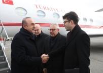 BIRLEŞMIŞ MILLETLER - Dışişleri Bakanı Çavuşoğlu, ABD'de Türkevi Binasının İnşaatını Ziyaret Etti