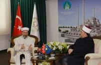 CUMHURBAŞKANı - Diyanet İşleri Başkanı Erbaş, Kosova İslam Birliği Başkanı Terneva İle Görüştü
