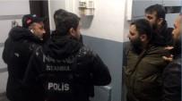 ADLİ KONTROL - Eşine 'Kapıyı Açma, Polis' Diye Bağırdı