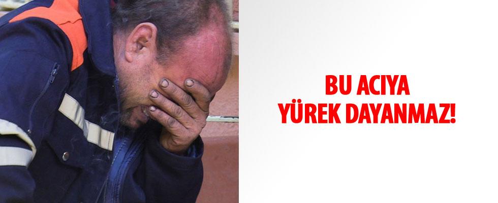 Adana'da eşinin döverek öldürdüğü 15 aylık bebeğinin cenazesini böyle teslim aldı