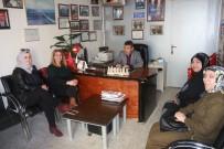 MUHTARLAR KONFEDERASYONU - Kadın Muhtar Adayları Genel Başkan Yardımcısı Taş İle Bir Araya Geldi