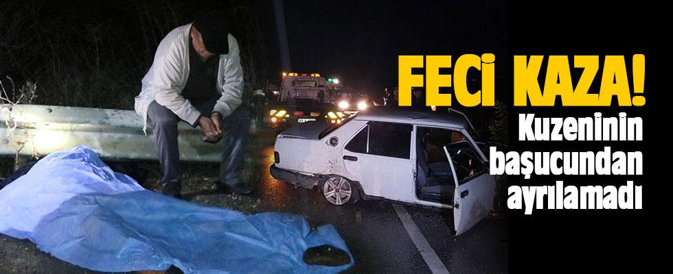 Manisa'da korkunç kaza! Sürücü feci şekilde can verdi
