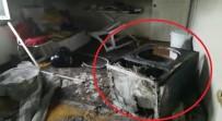 POLİS EKİPLERİ - Patlayan Çamaşır Kurutma Makinesi Evi Küle Çeviriyordu