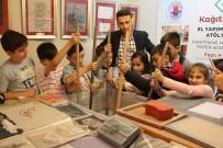 ÖĞRENCİLER - SİMURG'lu Çocuklar Kağıdın Tarihsel Gelişimine Tanıklık Ettiler