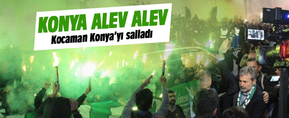 Aykut Kocaman, Konya'yı salladı!