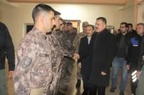 JANDARMA KOMUTANI - Vali Akbıyık'tan Özel Harekat Polislerine Ziyaret