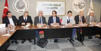 ZIRAAT MÜHENDISLERI ODASı - Antalya'da Sektör Temsilcileri Komisyonculuğu Kaldıracak Olan Yeni Hal Yasası'nı Ele Aldı