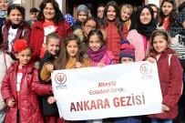 29 EKİM CUMHURİYET BAYRAMI - Cumhuriyet'i Anlattılar Ankara'yı Gezdiler