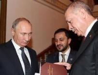 RUSYA DEVLET BAŞKANı - Erdoğan Putin'e kitap hediye etti