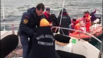 GÜNCELLEME - Adada Mahsur Kalan Düzensiz Göçmenler Kurtarılıyor