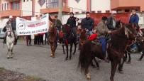 SANDIKLISPOR - Maçı İzlemeye Atları İle Geldiler