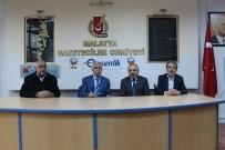 BISMILLAH - Mahmut Polat Gazeteciler Cemiyetini Ziyaret Etti