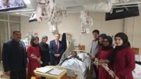 İMAM HATİP LİSESİ - Öğrenciler Hastaların Kandilini Kutladı