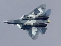 DENEME UÇUŞU - Rusya Suriye'de Su-57 uçurdu