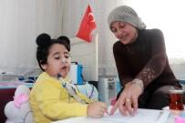 EVDE EĞİTİM - SMA Hastası Minik Firdevs'in Evde Eğitim Mutluluğu