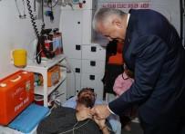 AÇILIŞ TÖRENİ - TBMM Başkanı Yıldırım Aracını Durdurup Kazazedelerle İlgilendi