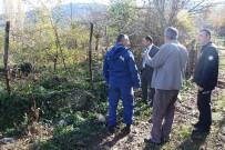 Ağaçköy Şehitliği'nde Düzenleme Çalışmaları