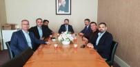 AHMET AYDIN - Ahmet Aydın Mermercilerin Sorunlarını Dinledi