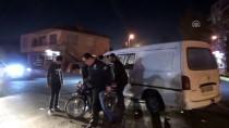 Aksaray'da Minibüs İle Motosiklet Çarpıştı Açıklaması 1 Ölü, 1 Yaralı