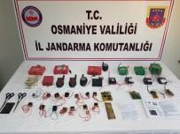 Amanoslar'da PKK'ya Ait Patlayıcı Düzenekleri Bulundu