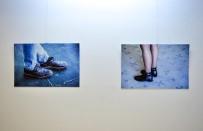 KARAKÖY - Ayakkabıları fotoğraf sergisine taşıdı