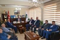 Başkan Rasim Daşhan'a Tebrik Ziyareti