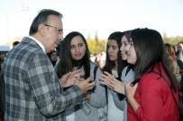 Belediye Başkanı Seçen, NEVÜ'de Hamsi Şöleni Şenliğine Katıldı