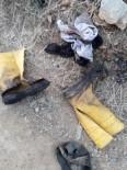 ALTıNOLUK - Edremit'te Zeytinlik Yangınını Söndürmeye Çalışan Bir Kişi Yandı