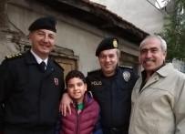 Emniyet Müdürü Yıldız Ve İl Jandarma Komutanı Çömez Esnafı Ziyaret Etti