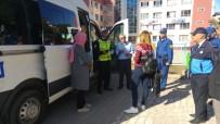Fatsa'da Okul Servis Araçları Denetlendi