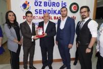 HAK-İŞ Genel Başkanı Arslan'dan Öz Büro-İş Sendikası'na Ziyaret