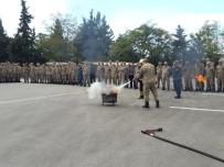 Jandarma Personeline Yangın Eğitimi