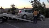 Kamyon Radar Aracına Çarptı Açıklaması 1 Polis Yaralı