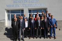 HÜSEYİN ŞAHİN - Kayseri Üniversitesi Rektörü Karamustafa'dan Seyrani Kampüsüne Ziyaret
