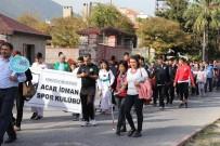 YAŞAR İSMAİL GEDÜZ - Kırkağaç'ta Sağlıklı Yaşam İçin Yürüdüler