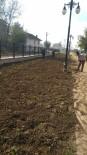 GıRGıR - Melensu Parkta Çimleme Çalışmaları Başladı