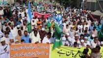 İSLAMABAD - Pakistan'da Asya Bibi Protestoları Üçüncü Gününde