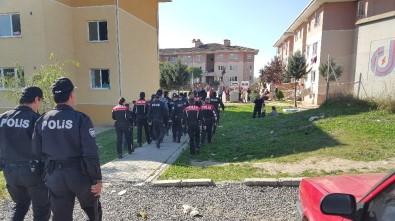 Polis mahalleye böyle girdi