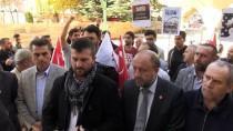 Şehit Filistinliler İçin Gıyabi Cenaze Namazı Kılındı