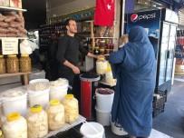 Siverek'te Kışlık Peynir Tezgahlarda Yerini Aldı