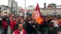 TAKSIM - Taksimde Derbi Coşkusu