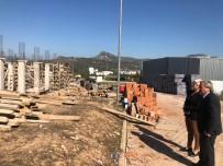 SELIM YAĞCı - Toplum Sağlığı Merkezi'nin İnşaatı Hızla İlerliyor