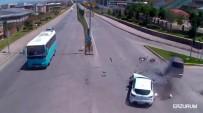 KIRMIZI IŞIK - Trafik Kazaları Kameraya Yansıdı