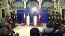 TUNUS BAŞBAKANI - Tunus Ve İtalya Düzensiz Göçmen Sorununu Görüştü