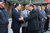 SALIM DEMIR - Vali Salim Demir, Uşak'tan Uğurlandı