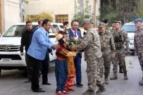 ALAY KOMUTANLIĞI - 2'Nci Ordu Komutanı Orgeneral Temel'e Zeytin Dalı İle Karşılama